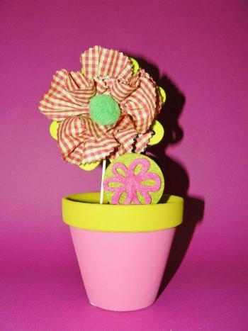 Activitees ete - Decoration avec des fleurs ...